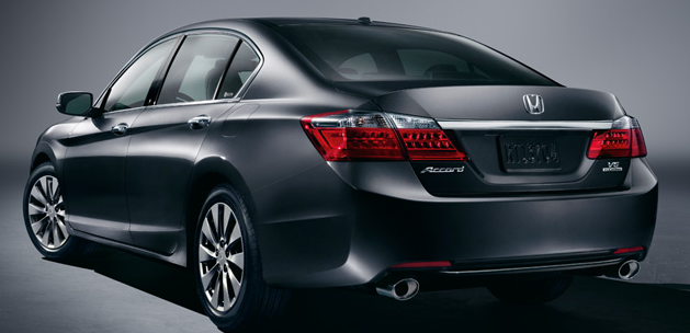 2013 Honda Accord, Back quarter view, exterior, manufacturer