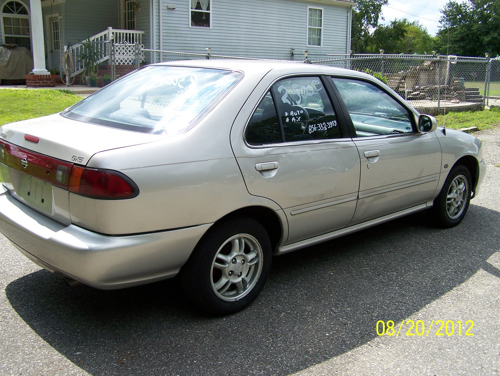 Nissan sentra gxe 2001 autos post for Garage nissan gex