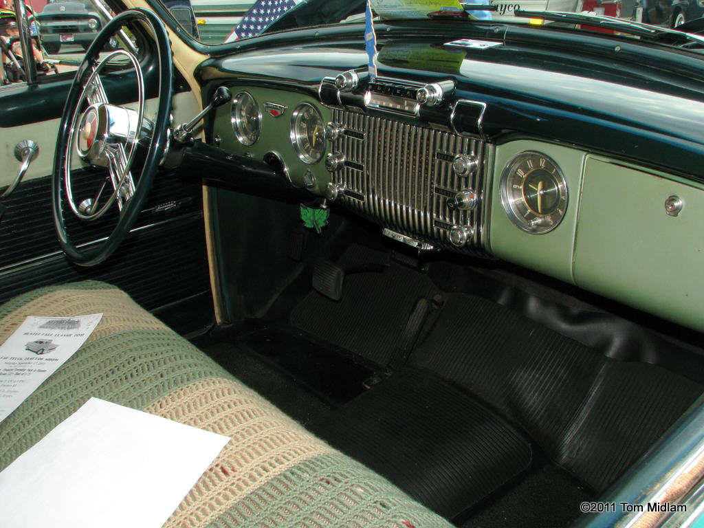 1953 buick special - interior pictures