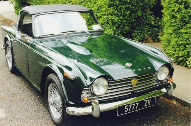 Dark green TR4A IRS 1966. About 400,000 on the clock.