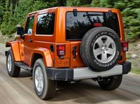 2013 Jeep Wrangler, Back quarter view copyright AOL Autos., manufacturer, exterior
