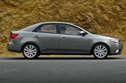 2013 Kia Forte, Side View copyright AOL Autos. , exterior, manufacturer