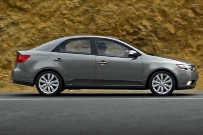 2013 Kia Forte, Side View copyright AOL Autos. , manufacturer, exterior
