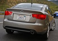 2013 Kia Forte, Back quarter view copyright AOL Auto. , manufacturer, exterior