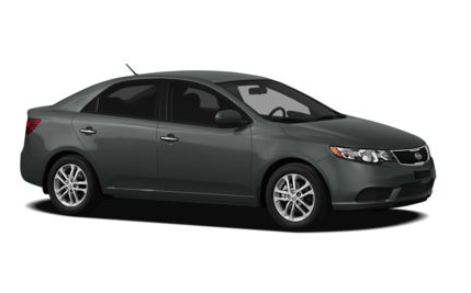2013 Kia Forte, Front quarter view copyright AOL Autos., manufacturer, exterior
