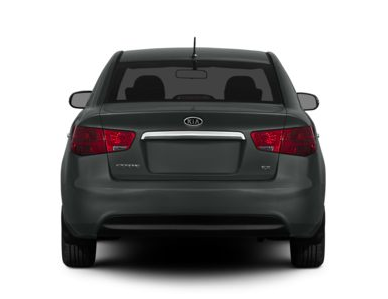 2013 Kia Forte, Back quarter view copyright AOL Autos., exterior, manufacturer