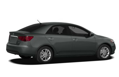 2013 Kia Forte, Back quarter view copyright AOL Autos., manufacturer, exterior