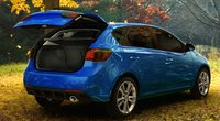 2013 Kia Forte 5-Door, Back quarter view., manufacturer, exterior