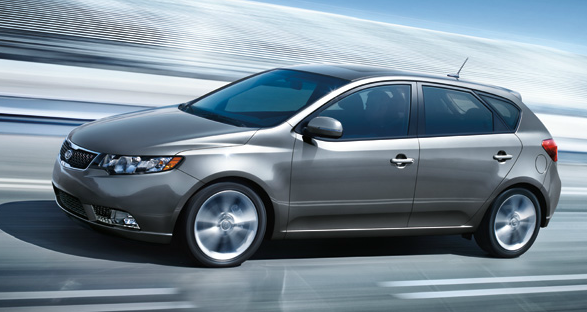 2013 Kia Forte 5-Door, Side View., exterior, manufacturer
