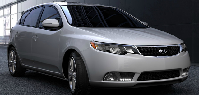 2013 Kia Forte5, Front quarter view., exterior, manufacturer, gallery_worthy