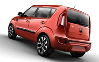 2013 Kia Soul, Back quarter view., exterior, manufacturer