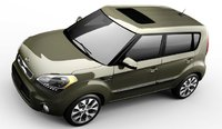 2013 Kia Soul, Front View., exterior, interior, manufacturer, gallery_worthy