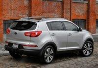 2013 Kia Sportage, Back quarter view., exterior, manufacturer