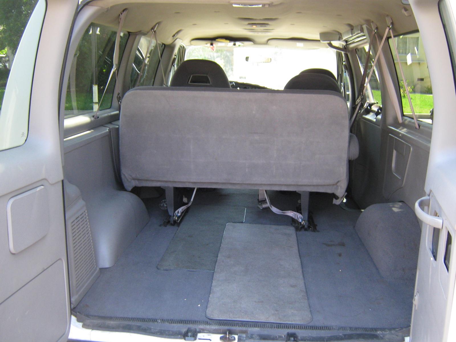 Ford Econoline Passenger Van Interior