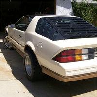 1984 Chevrolet Camaro Picture Gallery