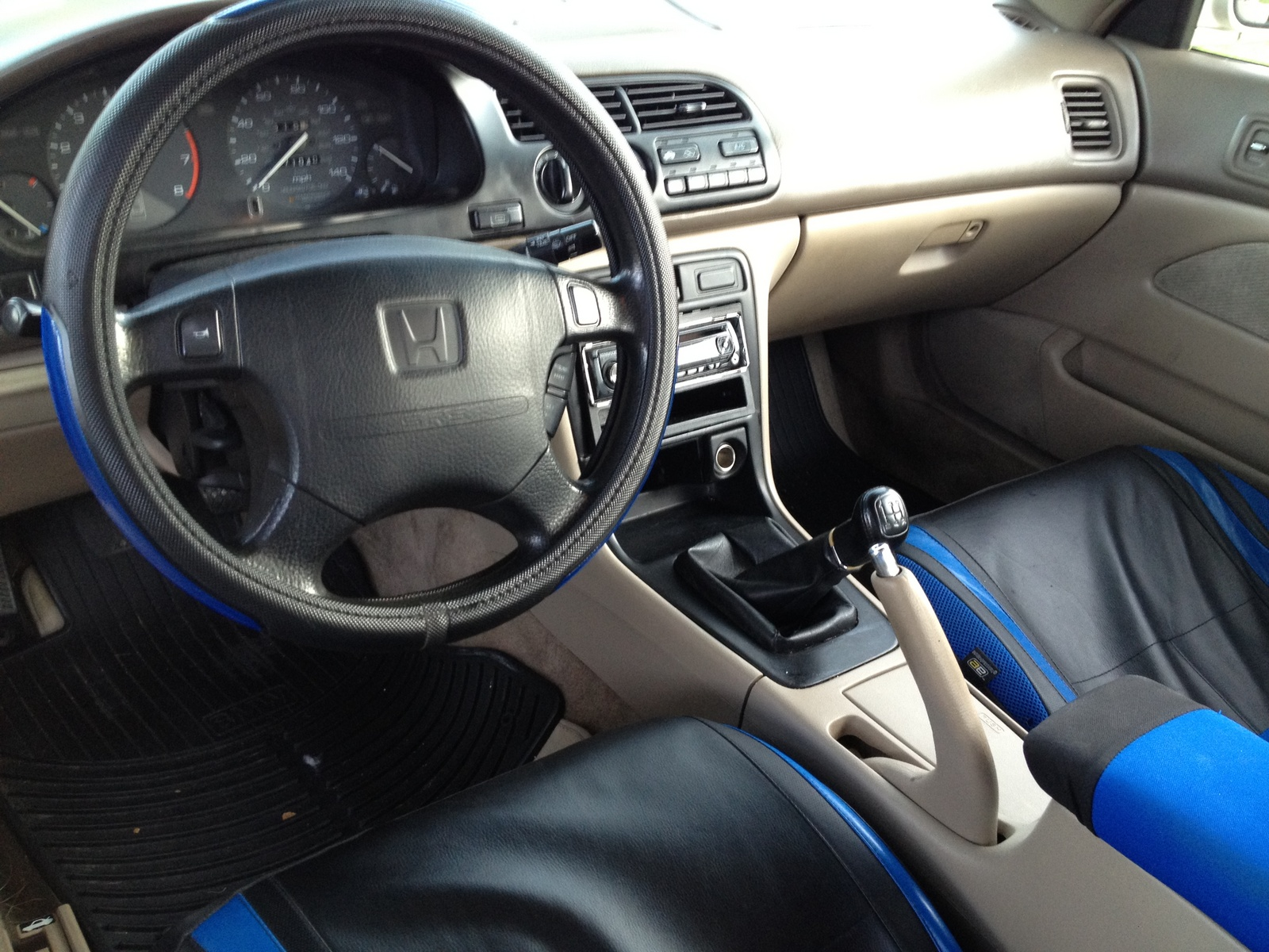 1996 Honda Accord LX Coupe picture, interior