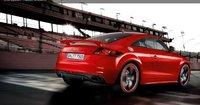 2012 Audi TT RS, Back quarter view., exterior, manufacturer
