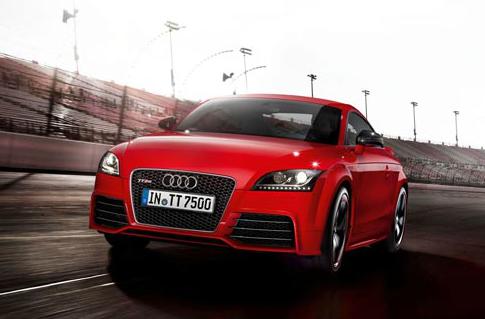 2012 Audi TT RS, Front quarter view., exterior, manufacturer