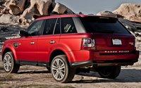 2012 Land Rover Range Rover Sport, Back quarter view., exterior, manufacturer, gallery_worthy