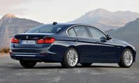 2013 BMW 3 Series, Back quarter view., exterior, manufacturer