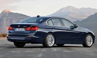 2013 BMW 3 Series, Back quarter view., manufacturer, exterior
