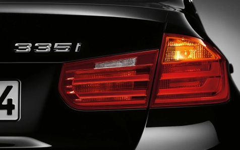 2013 BMW 3 Series, Tail light., exterior, manufacturer