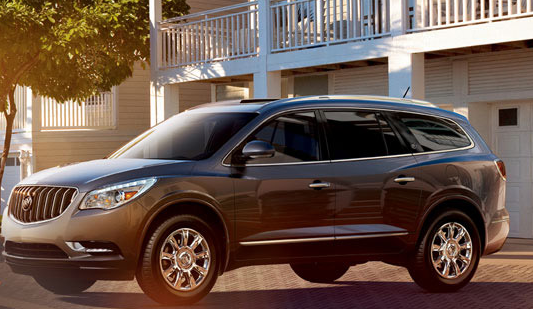 2013 Buick Enclave, Side View., exterior, manufacturer, gallery_worthy