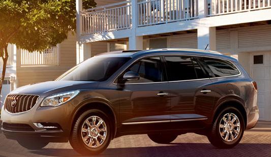 2013 Buick Enclave, Side View., exterior, manufacturer