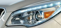 2013 Buick Enclave, Headlight., exterior, manufacturer, gallery_worthy