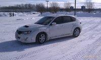 2011 Subaru Impreza WRX STI Hatchback AWD, NJ snow storm., exterior, gallery_worthy