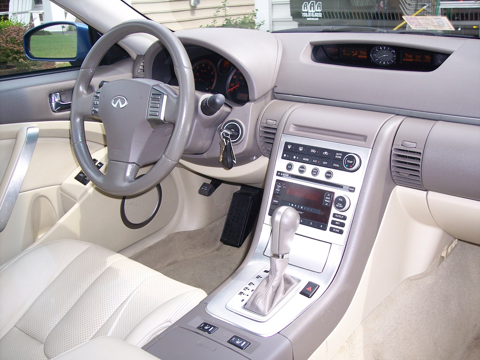 2005 G35 Interior Parts