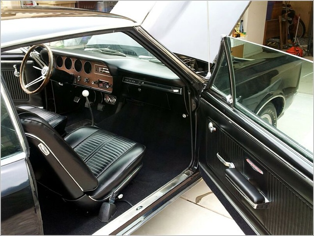 Captivating Picture Of 1966 Pontiac GTO Coupe, Interior, Gallery_worthy