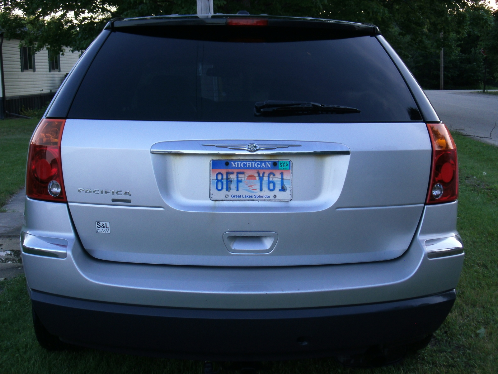 picture of 2006 chrysler pacifica limited exterior. Cars Review. Best American Auto & Cars Review