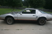 1986 Pontiac Firebird, new supension with full weight for first time, exterior