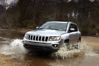2013 Jeep Compass, Front-quarter view, manufacturer, exterior