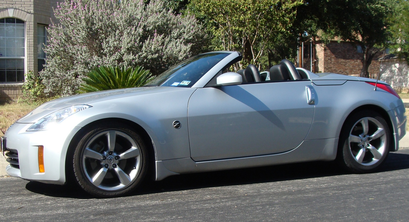 2007 nissan 350z exterior pictures cargurus. Black Bedroom Furniture Sets. Home Design Ideas