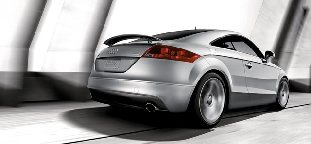 2013 Audi TT, exterior right rear quarter view, exterior, manufacturer