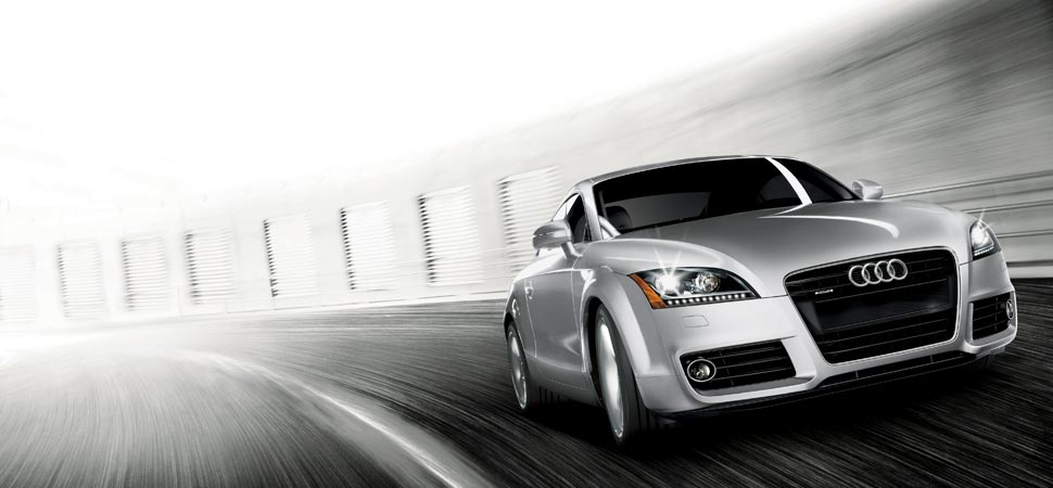 2013 Audi TT, exterior right front quarter view, manufacturer, exterior