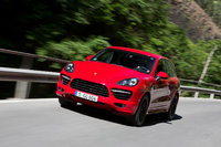 2013 Porsche Cayenne GTS, Right-Front quarter. Copyright Porsche. , exterior, manufacturer