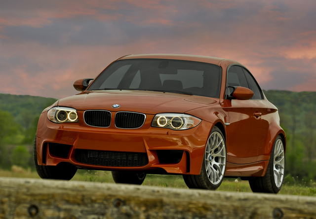 2011 BMW 1M, Front-right quarter. Copyright BMW. , exterior, manufacturer, gallery_worthy