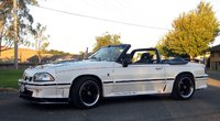 1992 Ford Mustang LX Convertible, Side view, exterior