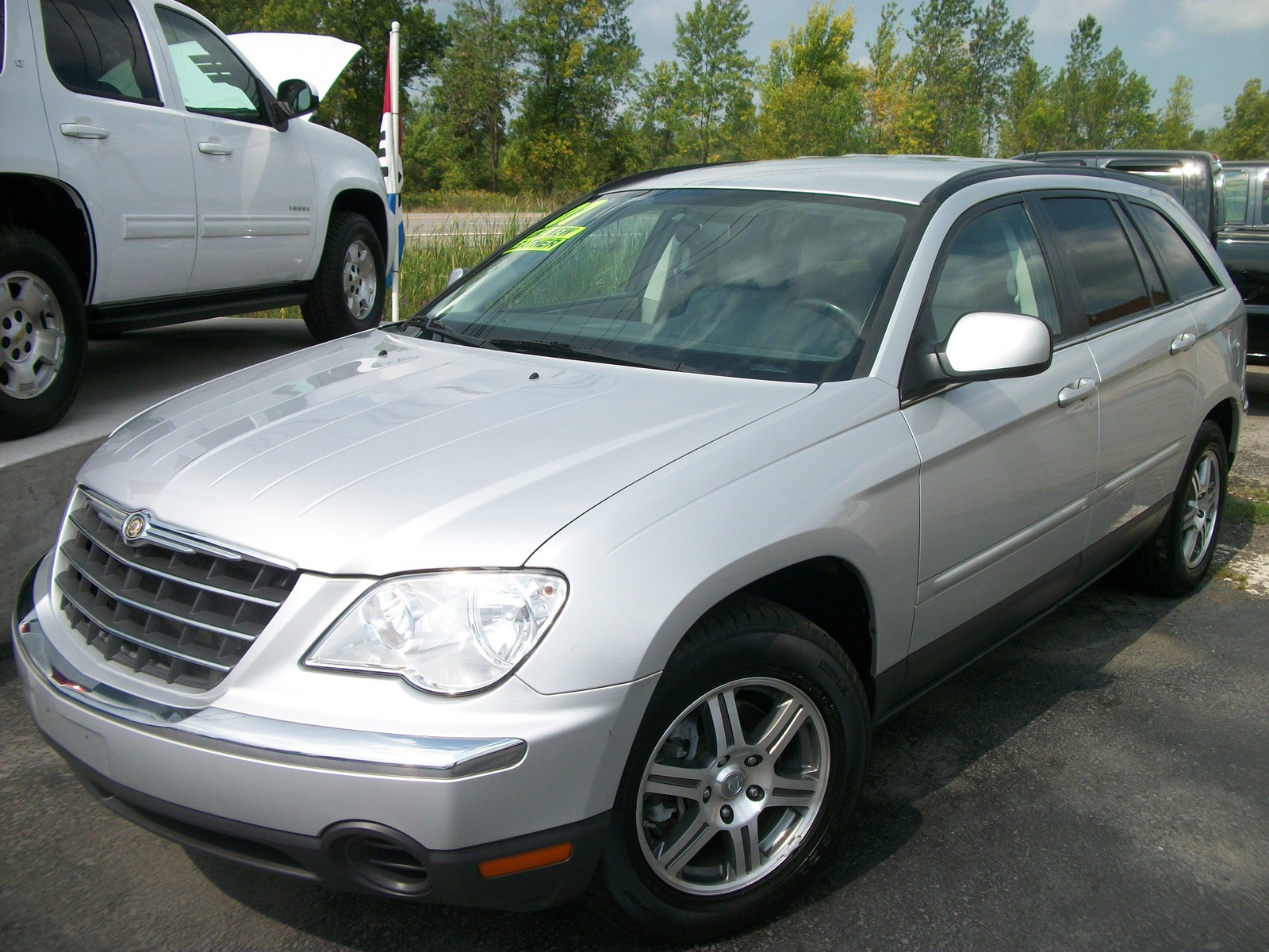 picture of 2007 chrysler pacifica 4 dr touring awd s package exterior. Cars Review. Best American Auto & Cars Review