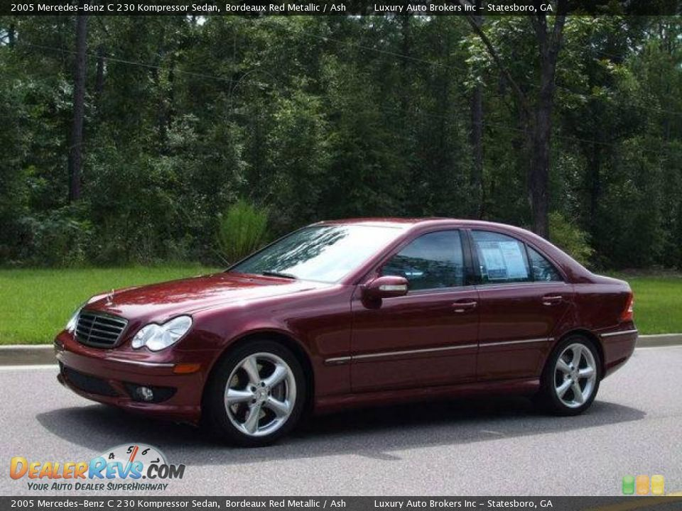 2005 mercedes benz c230 kompressor supercharged for Mercedes benz c230 kompressor 2005