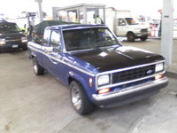 1987 Ford Ranger, one of three pics before the accident, exterior