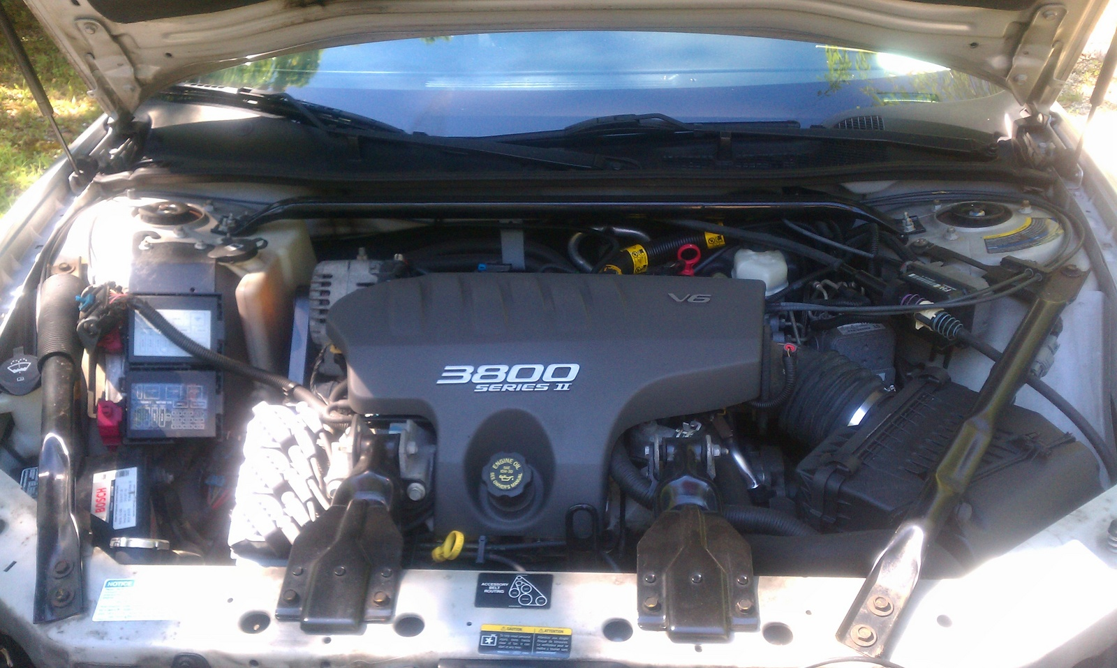 2001 monte carlo engine compartment  2001  free engine