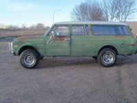 1971 Chevrolet Suburban Picture Gallery