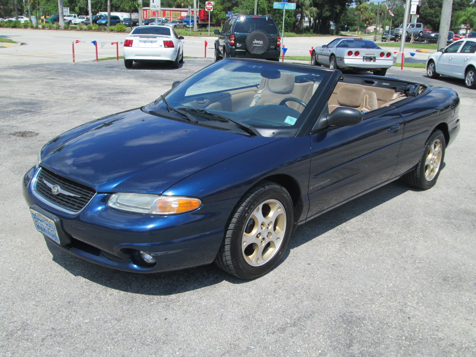 1997 Chrysler Sebring Convertible Owners Manual