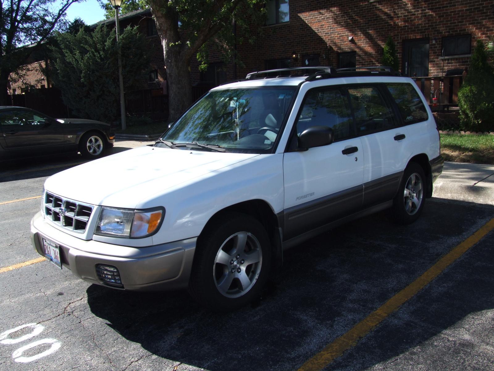 1999 Subaru Forester Pictures Cargurus