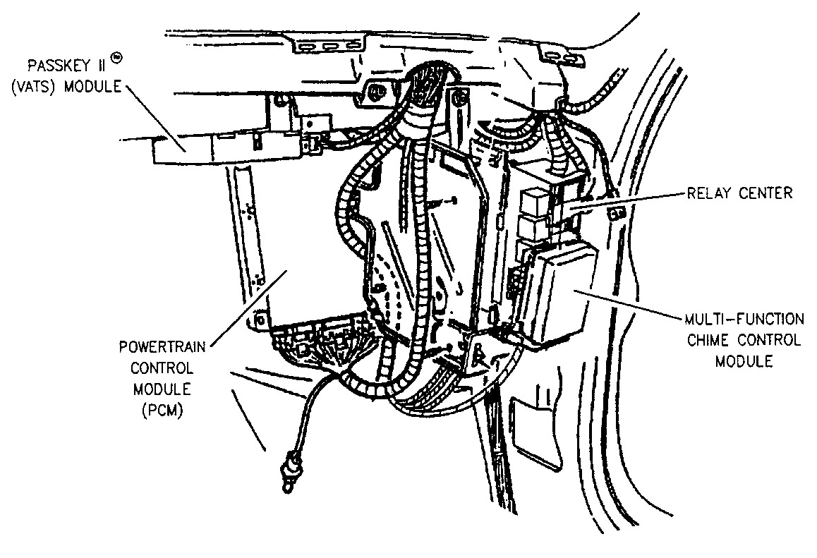 1997 Mercury Grand Marquis Wiring Harness Diagram Download 1989 Crown Vic Buick Lesabre Questions Where Can I Find The Computer On 2002 Silverado 2500