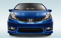 2013 Honda Fit, exterior front view full, exterior, manufacturer